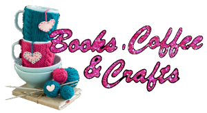 Books, Coffee, and Crafts logo