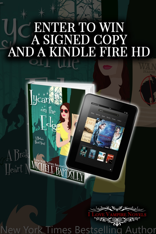 Win a Kindle Fire & Signed Michele Bardsley Books