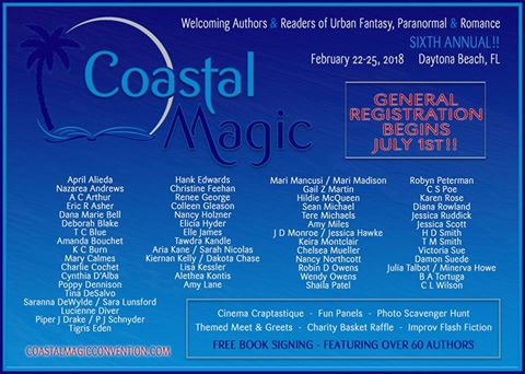 Coastal Magic Featured Authors