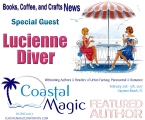 BCC News Special Guest Lucienne Diver - Coastal Magic Featured Author