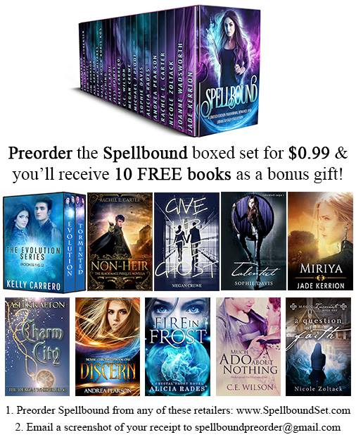 Preorder the Spellbound boxed set and get 10 free books.