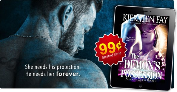 The Demon's Possession by Kiersten Fay 99 cent sale