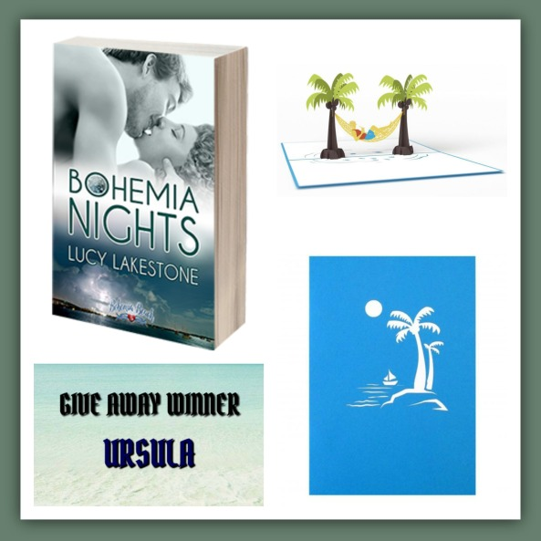 Giveaway Winner for Bohemia Nights by Lucy Lakestone Giveaway