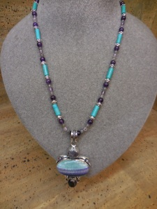 Necklace made by Deborah Blake