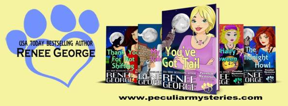 Peculiar Mysteries series header