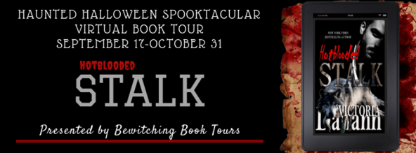 Haunted Halloween Spooktacular Virtual Book Tour - STALK - Hotblooded Book 1