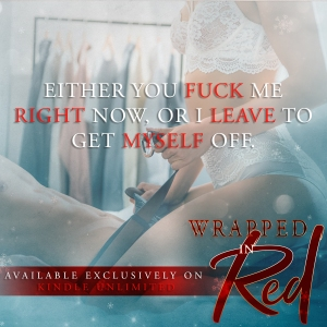 Teaser for Wrapped In Red by S.A. Clayton
